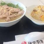 福泰厨房 - 鶏タンメンと半炒飯のセット