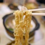 52494756 - モツ鍋ラーメンのインスタント麺がサイコー