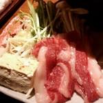 52497929 - 新潟県産牛のすきしゃぶ