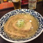東京駅 斑鳩 - 絶品。塩あさりそば(^∇^)♪