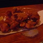 渚難済 - 料理写真:☆鶏の唐揚げはジューシーで熱々です(≧▽≦)/~♡☆