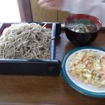河内うどん屋 - 蕎麦+かき揚げ