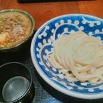 うどん棒 - 激ウマ!オリーブ牛のつけ麺。麺はうどんだよ!