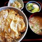 花月庵 - 料理写真:カツ丼!