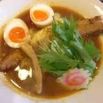 まろ亭 - 特のせカリー麺