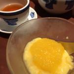 謝朋殿 - 桃スイーツ。プーアル茶が美味しい。