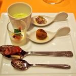 リストランテ ル・ミディ ひらまつ - PRANZO B(季節の前菜5種盛り合わせ)
