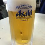 橋野食堂 - 生ビール