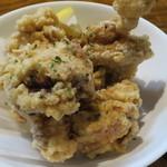 すきっぱー - 鶏の塩から揚げ