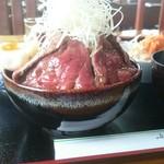 レストラン 北山 - 倍喰丼大盛(税込み1400円)