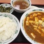 52511545 - 麻婆豆腐定食