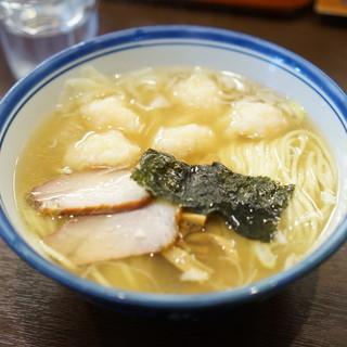 麺屋はやしまる - 料理写真:海老ワンタン 塩