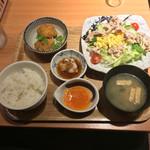 やよい軒 - 彩野菜の豚しゃぶ定食 ¥790-   2016.6.20 Mon.