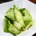 桔梗苑 - 桔梗苑特製サラダ