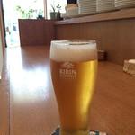 カフェクッカ - 生ビールをいただきました!(2016.6.21)