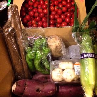 産地直送無農薬野菜