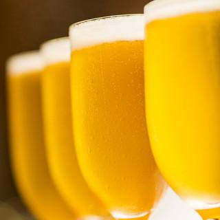 【冷たいビールで乾杯】夏野菜や鱧など旬の味覚たっぷりのコース