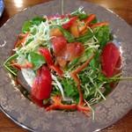 海の幸 - 野菜サラダ