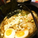 らー麺 とぐち - 漆黒の醤油、チャー丼