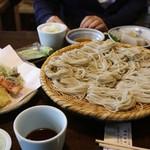 うずら家 - そばも天ぷらもおいしいけど、なんといってもダシ(おつゆ)がうまい