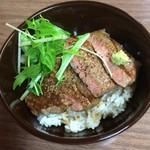 焼肉 蘭 - 和牛ステーキ丼