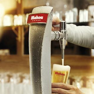 スペインを代表する五つ星ビール「マオウ」を樽生で!