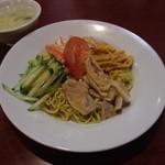 王さん私家菜 - 【本日のお得ランチ】冷し中華