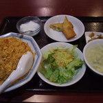 王さん私家菜 - 【ランチ】キムチチャーハン