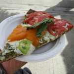 Kakaako Farmers Market - 食べたピザ