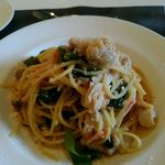 agata - サワラのオイルソースのスパゲッティ