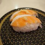 はま寿司 ららぽーと甲子園店 - 大トロサーモン