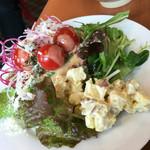 メルキュールホテル - 朝食のサラダ