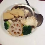 Kouga - イカとアワビの塩炒め