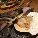 水魚之喜 - 海鮮5種盛合わせ♪
