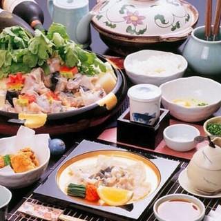 旬の食材を贅沢に堪能!お得なご宴会向きコースあります