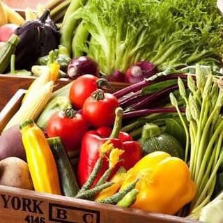 群馬農場直送!土からこだわっている、新鮮な野菜を使用♪