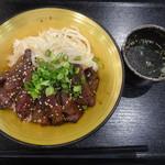 焼肉トラジ - 牛ハラミ丼