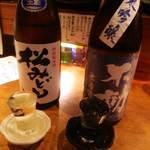 豆たく - 日本酒も豊富