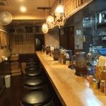 麺場 七人の侍 - 店内