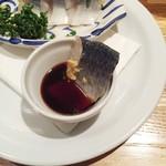 Tsubameguriru - ニシンの酢漬け つばめ風670円