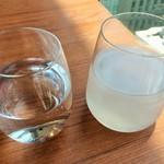Nori Ginza - ローズ水と真珠水