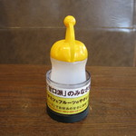 CoCo壱番屋 - 料理写真:甘口用ソースです。