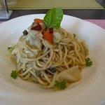 アルコバレーノ - キャベツとアンチョビのスパゲティ