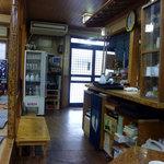 そば福 - 店内の様子(厨房)