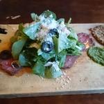 52540504 - ハーブ野菜のサラダ