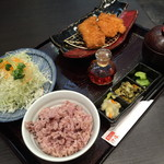 Tonkatsuhamakatsu - 浜勝ランチ(790円+税)