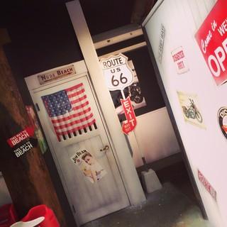 アメリカンな雰囲気、オシャレカジュアルな焼肉店