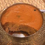 ネパール料理バルピパル - 中はこんな感じ。 サンニャクンニャ(干し魚の煮凝り)