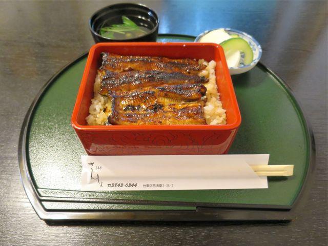 浅草 うなぎ さんしょ - うな重(いちょう、3,500円)