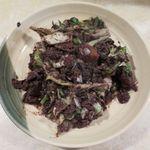 山羊料理 美咲 - 血イリチー(800円)